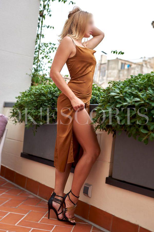 Chloe como acompañante de lujo en Barcelona