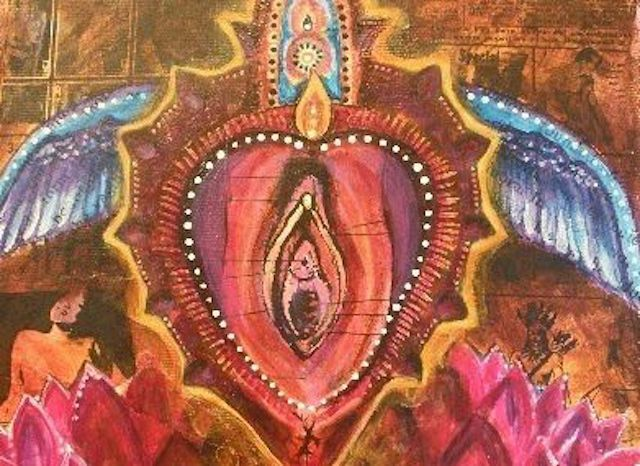 el arte de adorar la vulva, arte, pintura