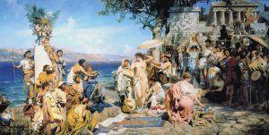 hetairas, prostitución antigua grecia